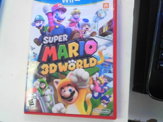 NINTENDO Nintendo Wii U Game SUPER MARIO 3D WORLD
