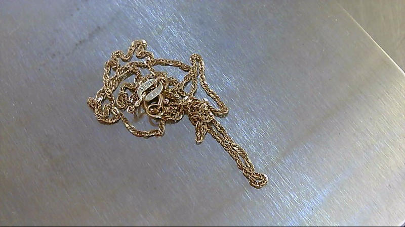 Gold Fine Chain 14K Yellow Gold 1.44g 16""