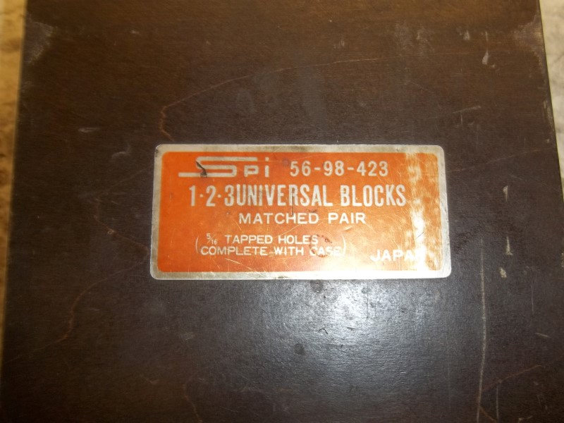 SPI 56-98-423 UNIVERSAL BLOCKS