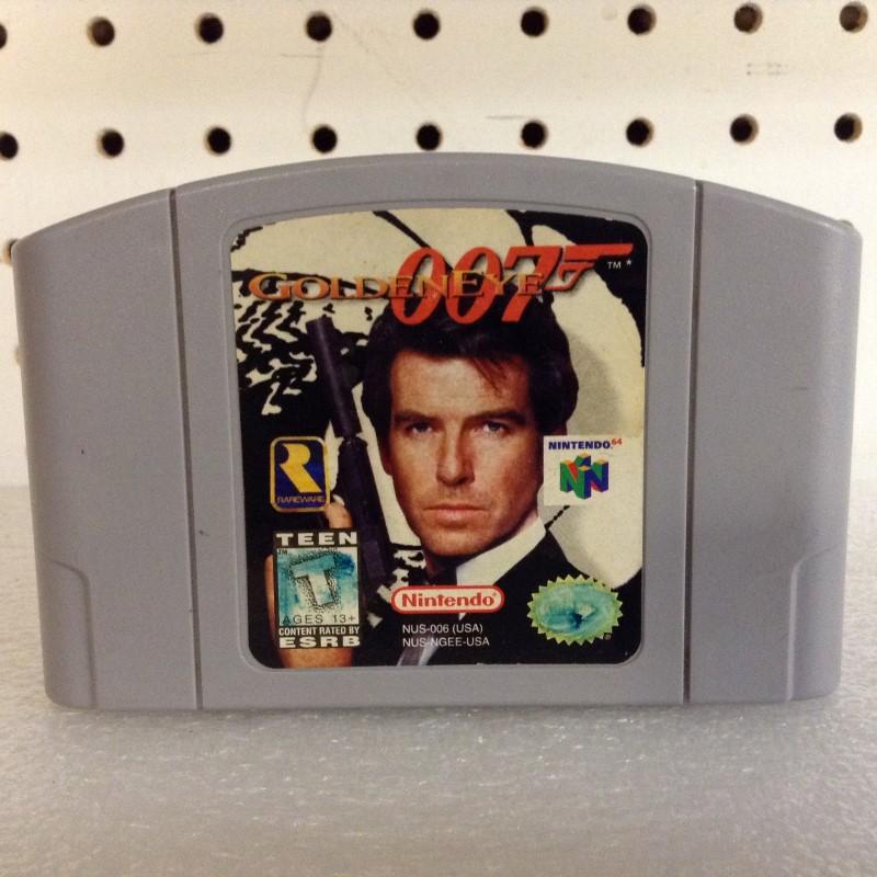 NINTENDO Nintendo 64 Game N64 007 GOLDENEYE