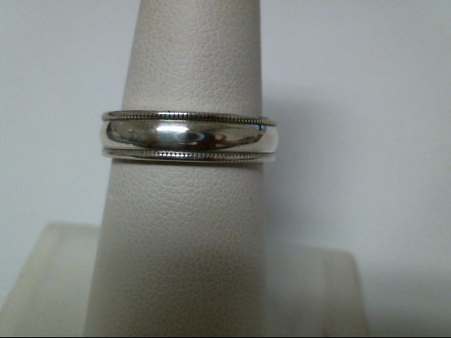 Gent's Silver Wedding Band 925 Silver 4.5g Size:7