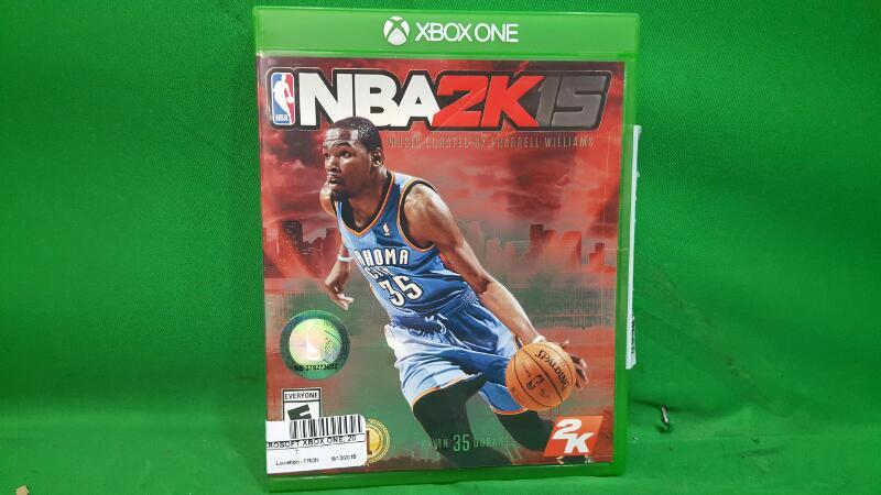 NBA 2K15 (Microsoft Xbox One, 2014)