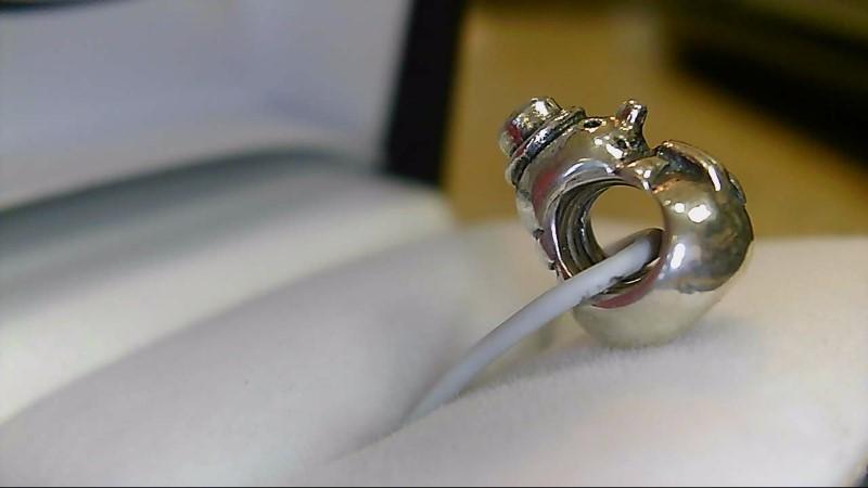 Pandora Silver Snowman Charm 925 Silver 3.61g