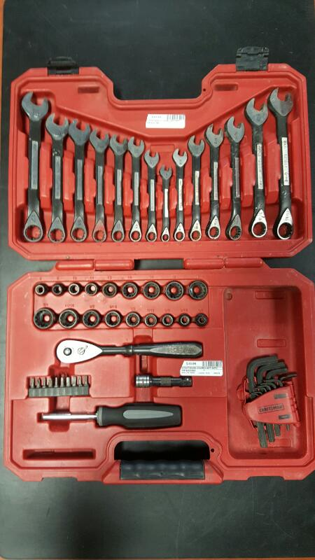 CRAFTSMAN Combination Tool Set 56PC UNIVERSAL MECHANIC TOOL SET