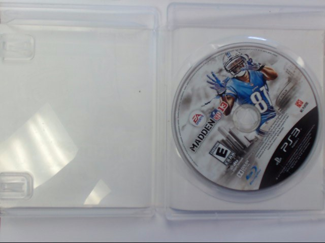 Sony PlayStation 3 Game PS3 MADDEN NFL13