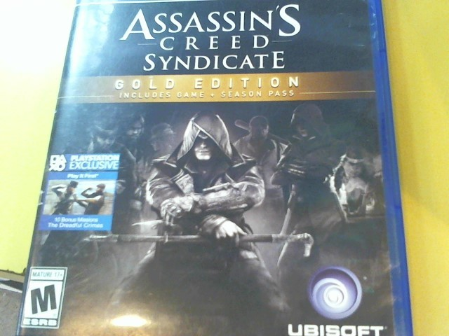 SONY Sony PlayStation 4 Game ASSASSIN'S CREED SYNDICATE - PS4