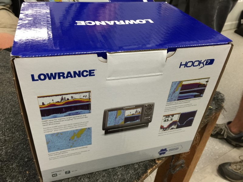 "Lowrance 000-12663-001 Hook-7 Base NOXD Fishfinder W / 7"" Display"