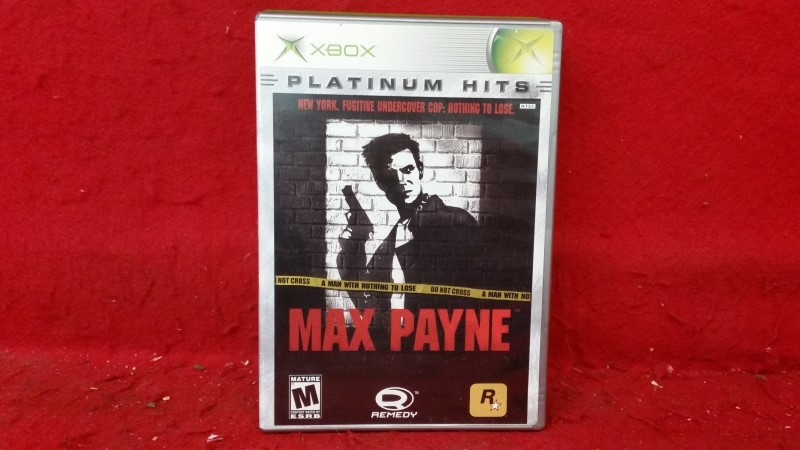 Max Payne (Microsoft Xbox, 2001)