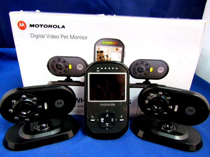 MOTOROLA SCOUT 500 VIDEO PET MONITOR