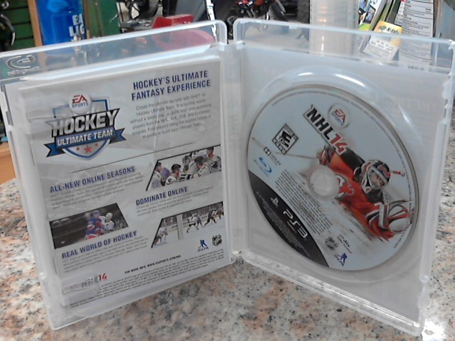 SONY Sony PlayStation 3 Game PS3 NHL14