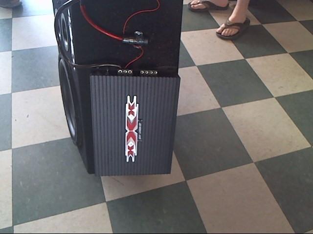 TRIPLE XXX Car Amplifier GXF-1200B
