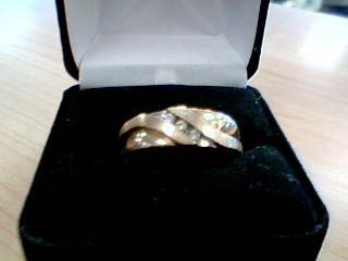 Gent's Diamond Solitaire Ring 3 Diamonds .21 Carat T.W. 10K Yellow Gold 7.4g