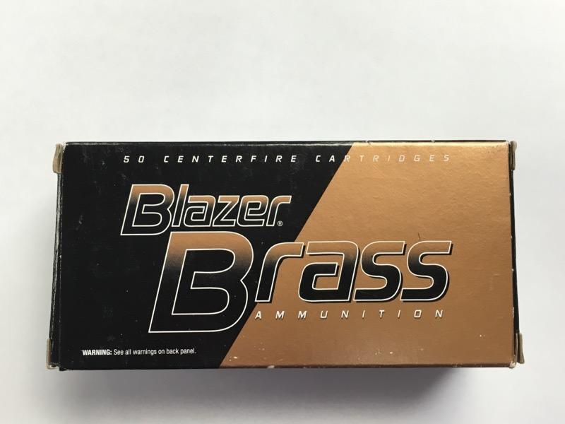 Blazer Brass- 38 Special - 125 GR. FMJ