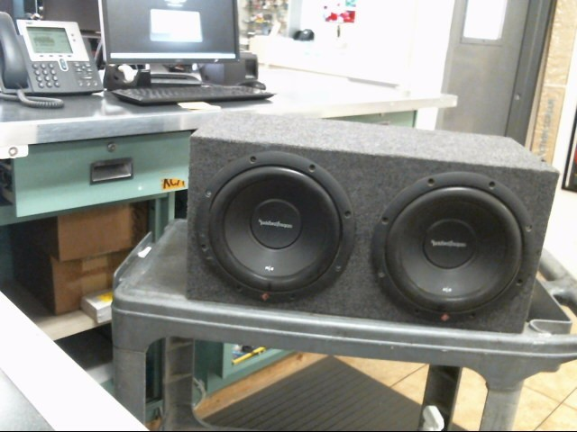 ROCKFORD FOSGATE Car Speakers/Speaker System R2D2-10
