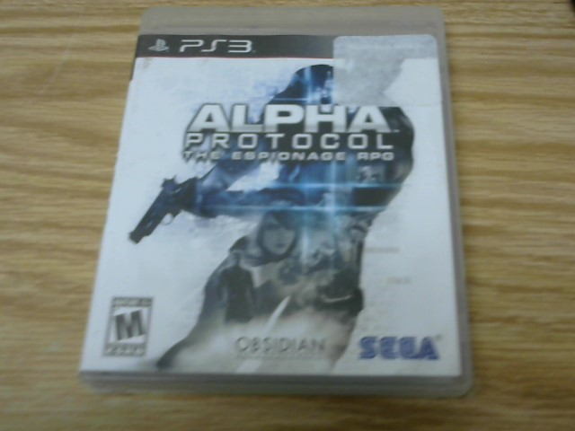 SONY Sony PlayStation 3 Game ALPHA PROTOCOL