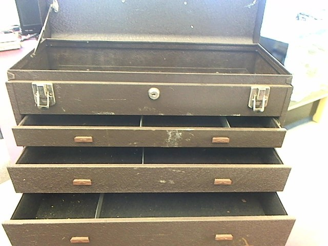 KENNEDY 3-DRAWER TOOL BOX