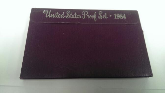 UNITED STATES 1984 PROOF SET