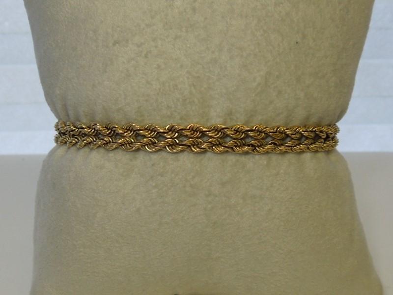 Gold Bracelet 14K Yellow Gold 10.1g