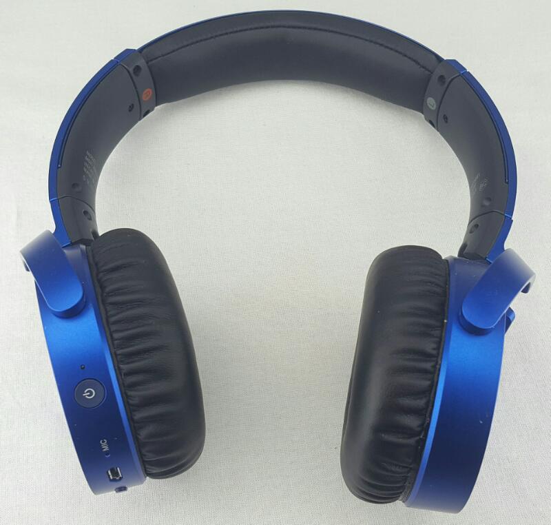 SONY Wireless Extra Bass Bluetooth Headphones Blue MDR-XB650BT