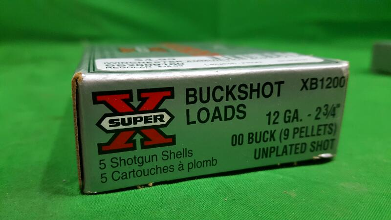 WINCHESTER Ammunition SUPER X 12GA BUCKSHOT