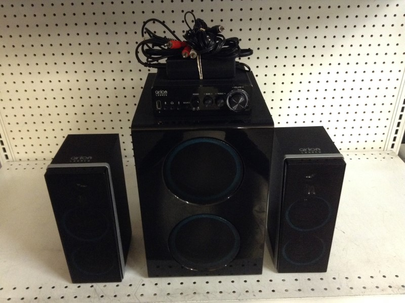 ORION ELECTRONICS Speakers/Subwoofer ARDS750-BK