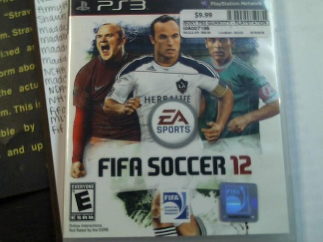 SONY PS3 FIFA Soccer 12