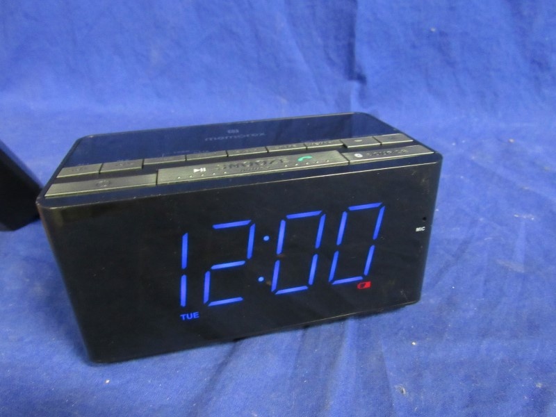 MEMOREX INTELISET NPC/BLUETOOTH DIGITAL CLOCK MC5550