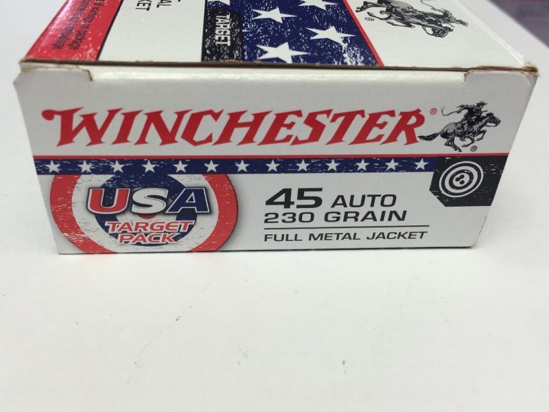 Winchester USA - 45 Auto - 230 GR FMJ