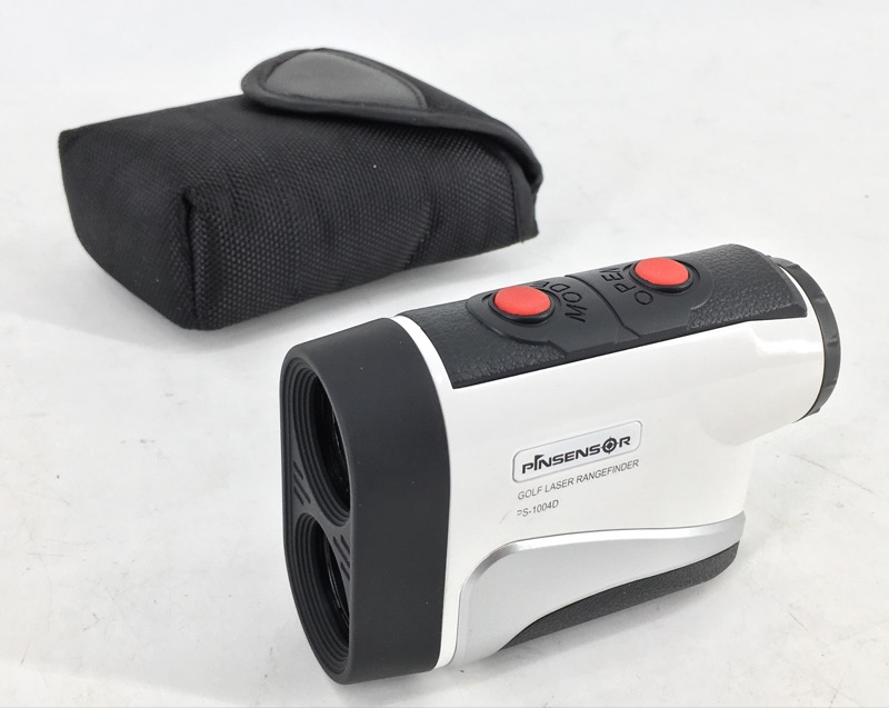 PINSENSOR PS-1004D LASER GOLF RANGE FINDER 2014
