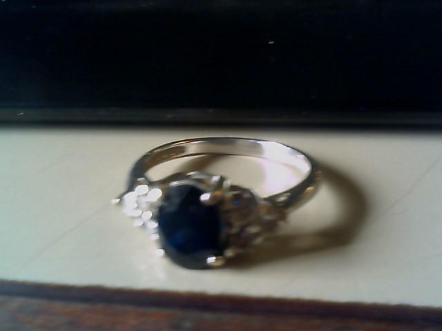 Lady's Diamond Fashion Ring 6 Diamonds .60 Carat T.W. 14K Yellow Gold 2.9g