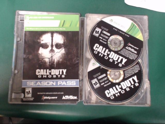 MICROSOFT Microsoft XBOX 360 Game CALL OF DUTY GHOSTS - XBOX 360
