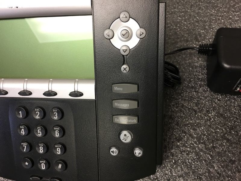 Polycom SoundPoint IP 550 Digital Phone with Power Supply