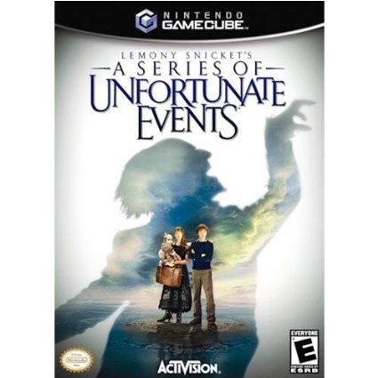 Nintendo GameCube LEMONY SNICKETS: A SERIES OF UNFORTUNATE EVENTS Disc Only