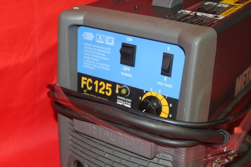 Metal Man 115V Flux Core Wire Welder FC125