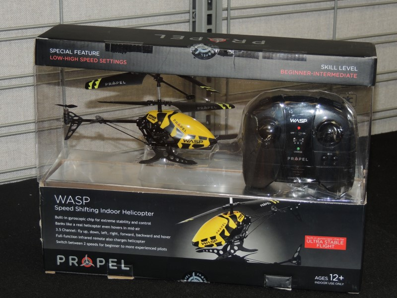 Wasp Propel Intermediate RC Indoor Remote Control Helicopter 6000958