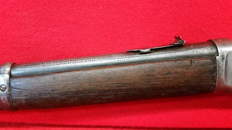 Winchester Model 1894 Saddle Ring Carbine - US Issued - 38 WS