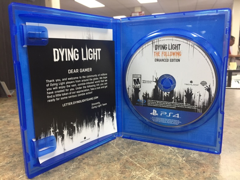 SONY Sony PlayStation 4 Game DYING LIGHT-THE FOLLOWING