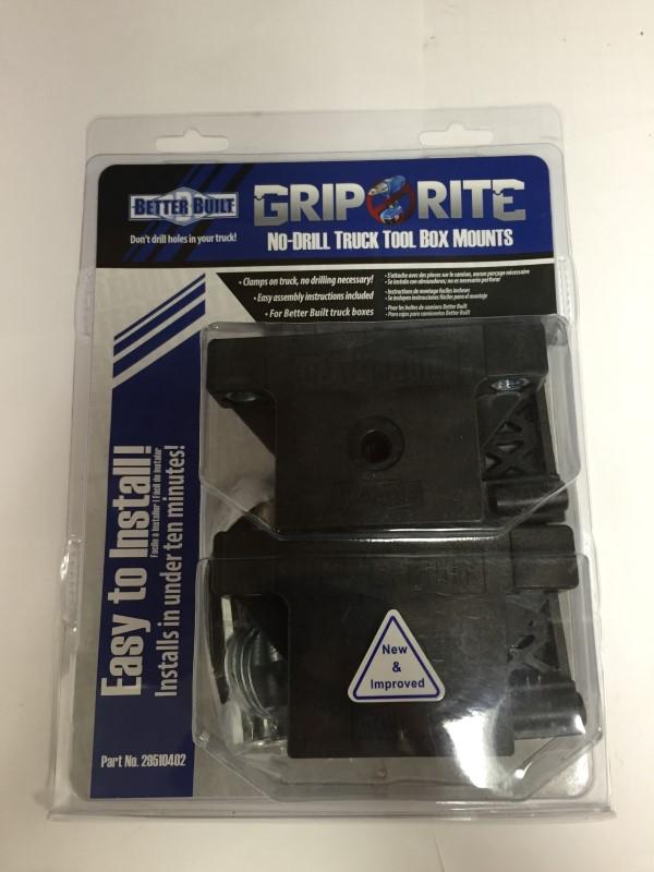 GRIP RITE TRUCK TOOL BOX MOUNTS