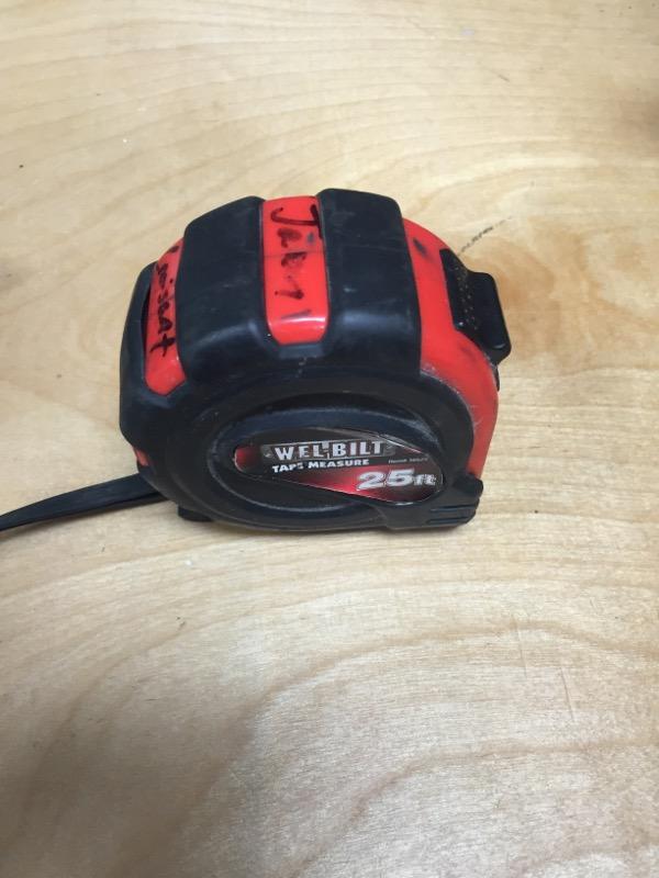 WELBILT Measuring Tool 25' TAPE MEASURE 16525