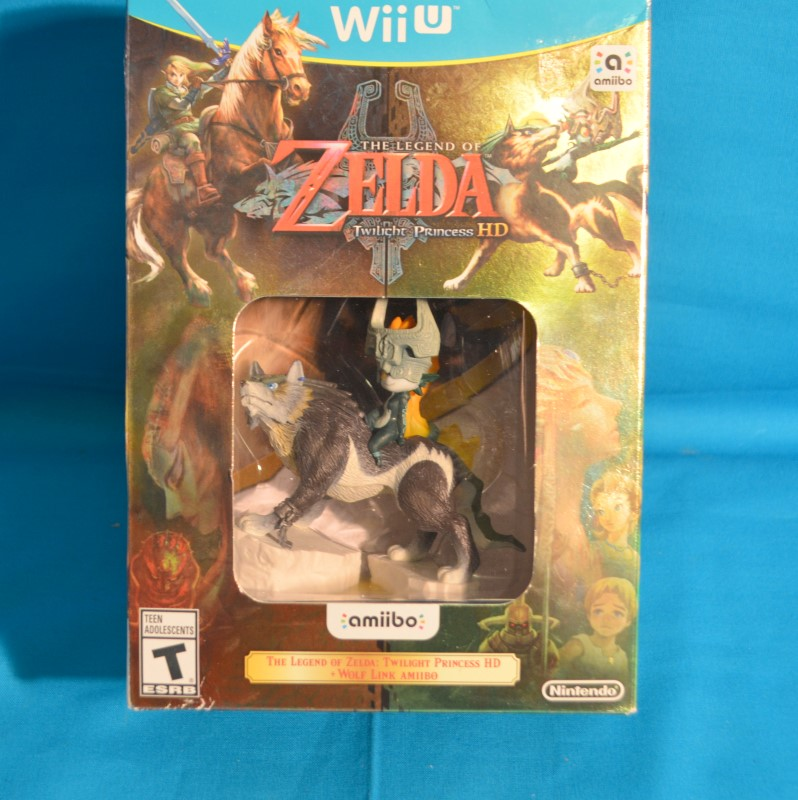NINTENDO Nintendo Wii U Game THE LEGEND OF ZELDA TWILIGHT PRINCESS HD WII U