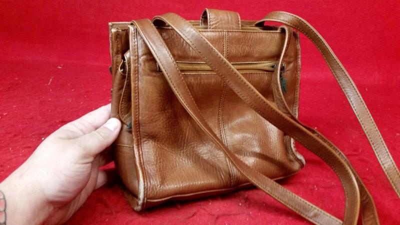 American Angel Brown Ladies Handbag Purse