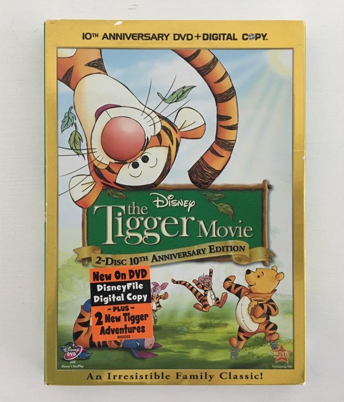 THE TIGGER MOVIE 10TH ANNIVERSARY EDITION