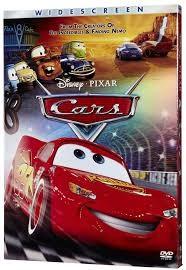 DISNEY DVD CARS