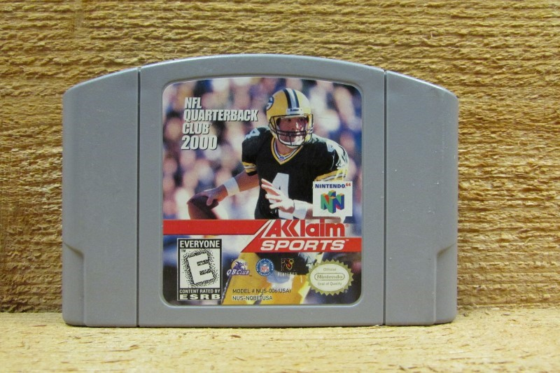 NINTENDO Nintendo 64 Game NFL QUARTERBACK CLUB 2000