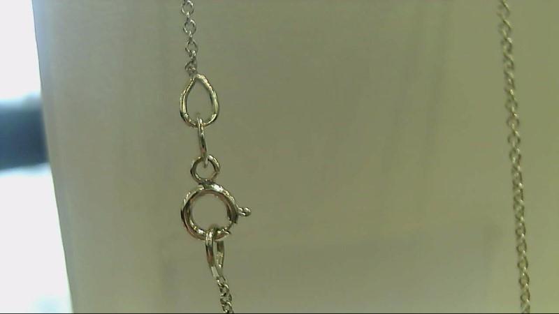 Gold Fashion Chain 14K White Gold 1.1g