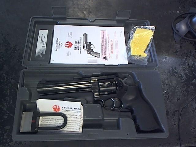 RUGER Revolver GP100 BLUE