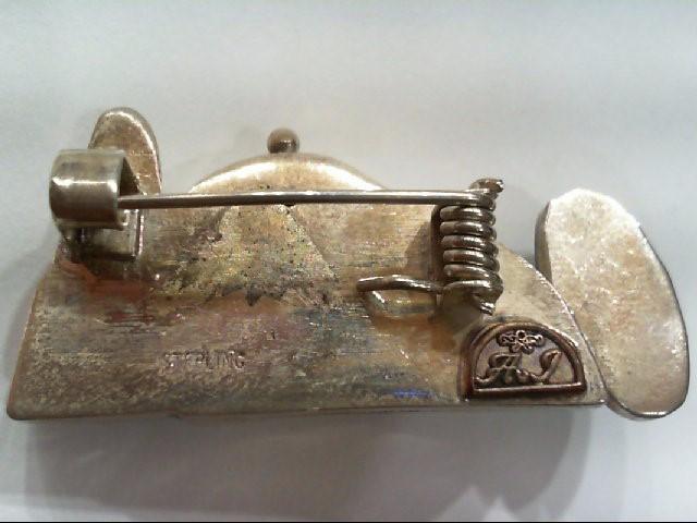 Silver Brooch 925 Silver 12.1g