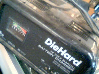 DIEHARD Battery/Charger BATTERY CHARGER ENGINE STARTER