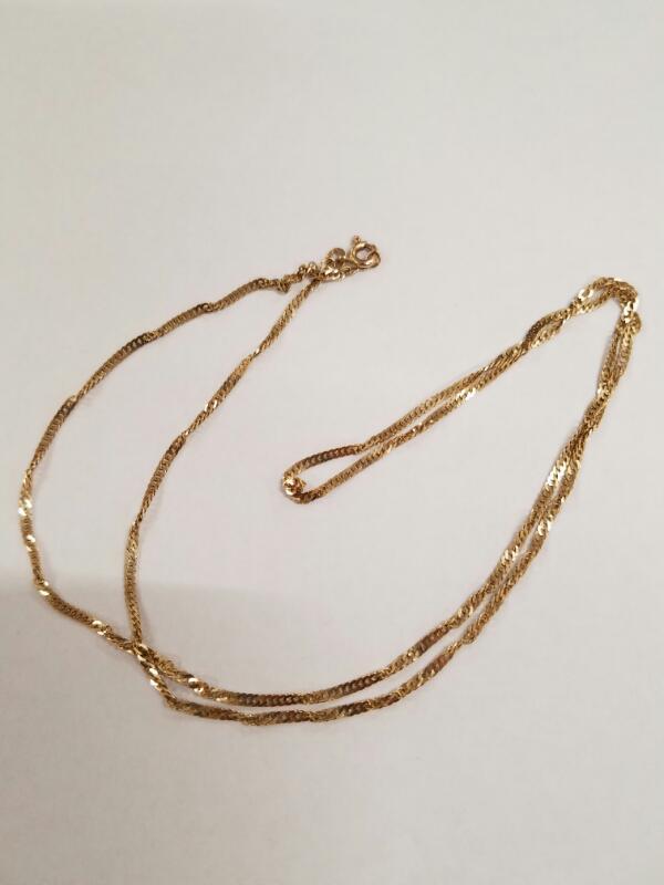 Gold Chain 14K Yellow Gold 2.7g