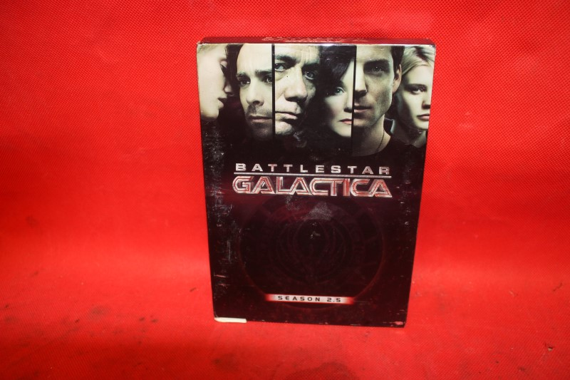 Battlestar Galactica - Season 2.5 (DVD, 2006, 3-Disc Set) FREE SHIPPING!
